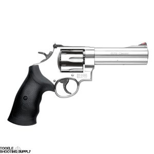 Smith & Wesson 629 Classic .44 mag Revolver, 5 Inch Barrel, Satin Stainless, Rubber Grips, Smith & Wesson 163636