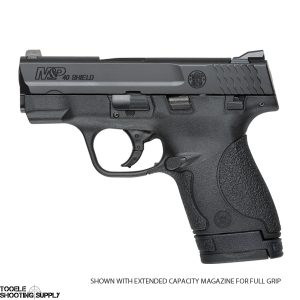 "Smith & Wesson M&P Shield .40 S&W Pistol- 3.1"" Barrel, Black Finish, 6 and 7-Round Magazines- Smith & Wesson 180020"