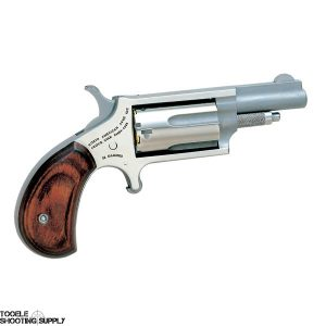 """North American Arms Mini Revolver- .22 Mag, Stainless Steel, 5-Round Capacity, 1 5/8"""" Barrel- North American Arms NAA-22M"""