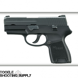 Sig Sauer P250SC 9mm Sub-Compact Pistol w/12rd Mag, Blued Finish, DAO Trigger, Contrast Sights - 250SC-9-B