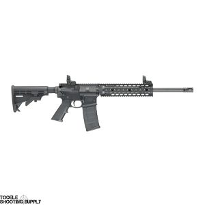 """Smith & Wesson M&P15T Tactical AR-15 Rifle, 16"""" Barrel, Quad Rail, MBUS Sights, 30-Round, Smith & Wesson 811041"""