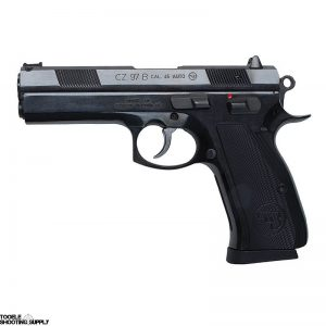 CZ 97B .45 ACP Semi-Auto Pistol with Two 10-round Mags, Fiber-Optic Front Sight, Barrel Bushing - CZ 01411