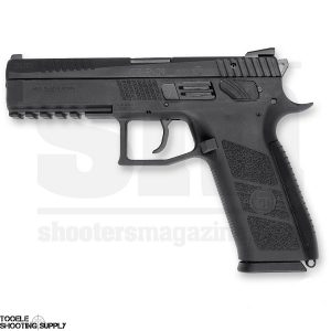 CZ USA P-09 Duty 9mm Pistol, SA/DA, Polymer Frame, 4.53 Inch Barrel, 19-Round Mags- CZ 91620
