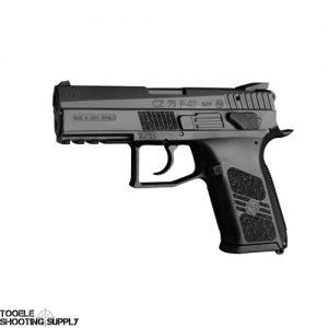 CZU CZ P-07 Duty 9mm Poly Frame, Black Slide, 16+1 Capacity - 91186