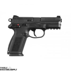 FNH FNX-9 9mm Pistol w/Contrast Sights, SA/DA Trigger, Blued Finish, 3 17rd Mags - FNH 66822