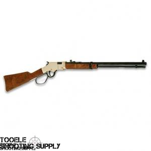"""Henry H004ML Goldenboy .22 Mag Lever Action Rifle- Large Loop Lever, 20"""" Barrel, Brasslite Receiver, Walnut Stock"""