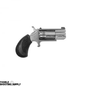 North American Arms NAA-Pug-TX .22 Mag Mini-Revolver, Wasp Cylinder and Hammer, Tritium Front Sight, 5 Round, Stainless Steel
