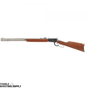 "Rossi R92-51011 .357 Mag Rifle with 24"" Stainless Octagon Barrel, Hardwood Stock, Crescent Butt Plate, 12-Round Tubular Magazine"