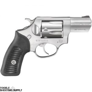 Ruger SP101 .357 Mag Revolver- Stainless Steel, 2.25 Inch Barrel, 5-Round, Fixed Sights, Black Rubber Grips- Ruger 5718