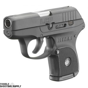 "Ruger LCP .380 acp Lightweight Compact Semi-Auto Pistol with 2.75"" Barrel, Black Finish, 6-round Magazine- Ruger 3701"