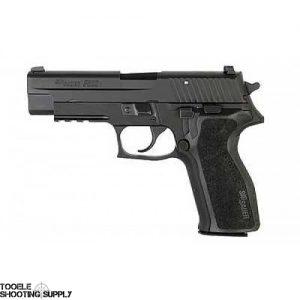 Sig Sauer P226 9mm Full Size Pistol w/Blued Finish, Tac Rail, Night Sights, 15rd Mag - E26R-9-BSS