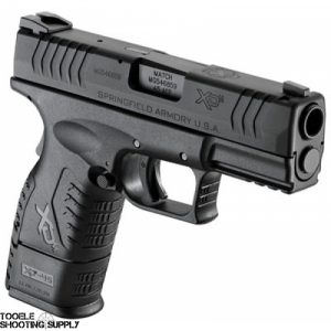 """Springfield XD(M) 45 Compact .45 ACP Pistol with 3.8"""" Barrel, 9 & 13rd Mags, Holster, Blued Finish - XDM93845CBHC"""
