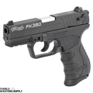 "Walther PK380 Semi Auto Handgun .380 ACP 3.66"" Barrel 8 Rounds Polymer Grips Black Finish - Walther 5050308"