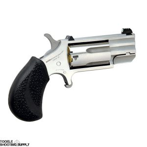 """North American Arms Pug .22 Mag/ .22lr Combo Mini-Revolver, 1"""" Barrel, 5 Round, Stainless- North American Arms NAA-PUG-DC"""